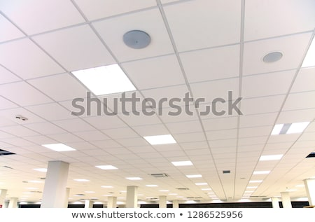 led panels on gray wall stock photo © magraphics
