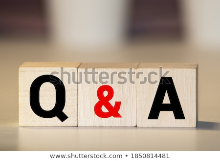 Q&A Stock photo © olivier_le_moal