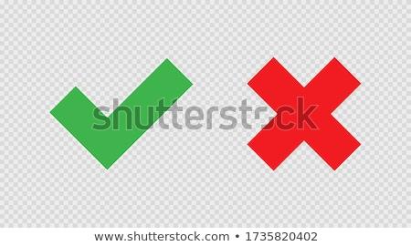 verkeerd · icon · grafisch · ontwerp · sjabloon · vector · geïsoleerd - stockfoto © haris99