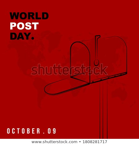 Мир пост иллюстрация коробки вокруг Сток-фото © Blue_daemon