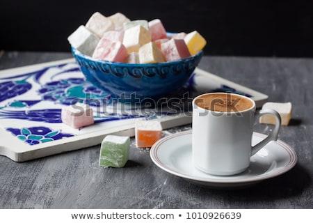カップ トルコ語 コーヒーカップ コーヒー 金属 オリエンタル ストックフォト © grafvision