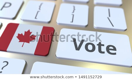 Canada Vote Stock photo © Lightsource