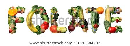 Witamina naturalnych zdrowia korzyści Zdjęcia stock © Lightsource