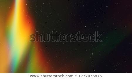 虹 フレア オプティカル 効果 レンズ 抽象的な ストックフォト © solarseven
