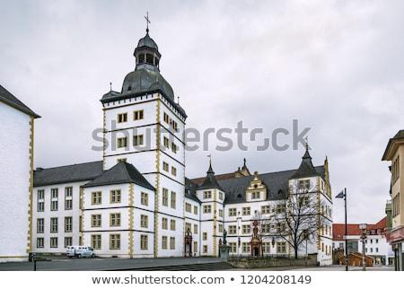 Teológia Németország épület ház iskola város Stock fotó © borisb17
