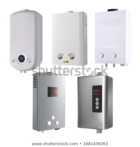 Water Heater House System Collection Set Vector Stock photo © pikepicture