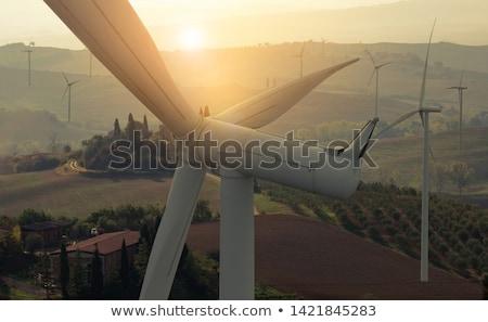 Clean electricity environment Stock photo © jossdiim