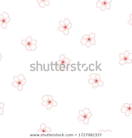 Vintage background of apple tree flowers bloom, floral blossom in spring Stock photo © Anneleven
