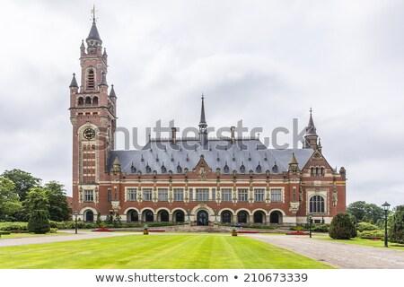 Paz palácio internacional lei administrativo edifício Foto stock © dmitry_rukhlenko