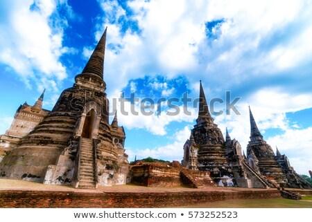 Wat Phra Si San Phet Stock photo © Witthaya
