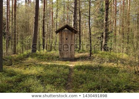 Stock photo: Outdoors Toilet
