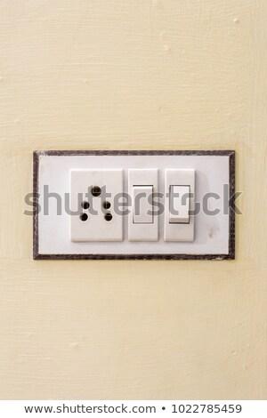 электрические · стены · зеленый · служба · фон · интерьер - Сток-фото © nuttakit