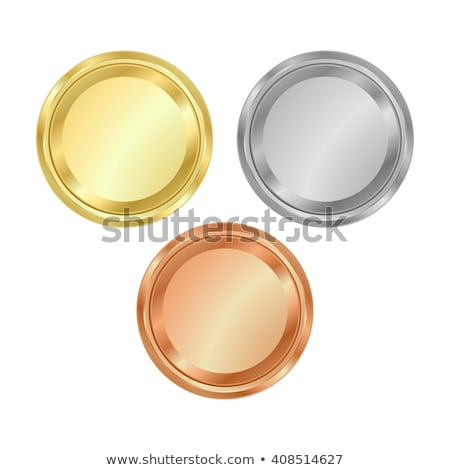 gold silver bronze seals stock photo © garyfox45116