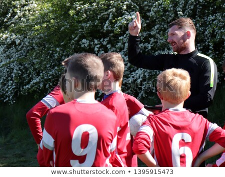 lads at football pitch Stock photo © photography33