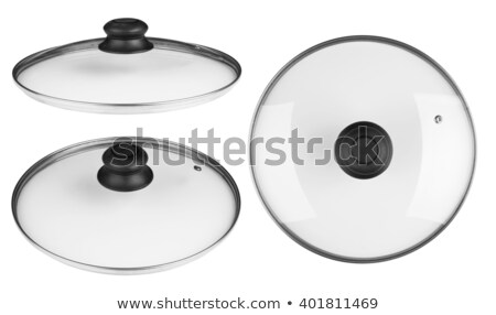 Saucepan covered by glass lid Stock photo © photography33