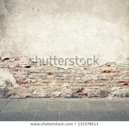 rua · parede · resistiu · edifício · abstrato - foto stock © Taigi