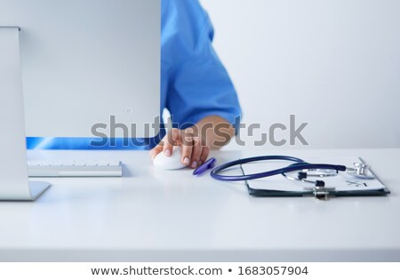 medical staff with computer stock photo © photography33