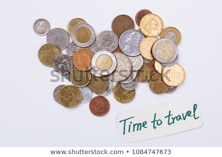 different currency coins Stock photo © haiderazim