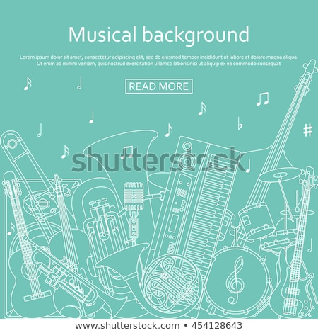 Synthesizer isolated on white background Stock photo © ozaiachin