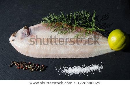 Dover sole (Solea solea) Stock photo © franky242