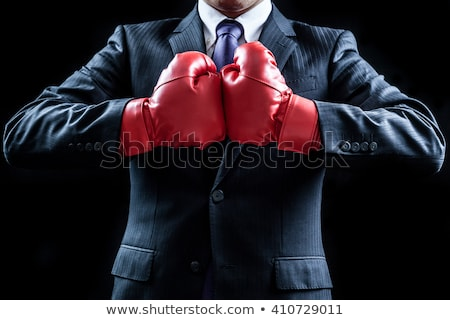Boxing a businessman in the office Stock photo © wavebreak_media