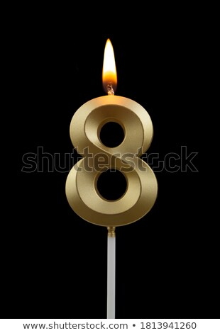 Number Eight Candle Stock photo © iqoncept