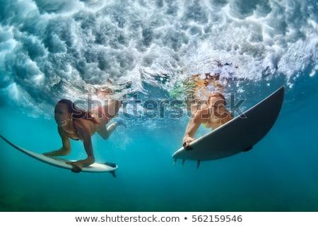 水 · スポーツ · ファー · 女性 · ビーチ · 旅行 - ストックフォト © maridav