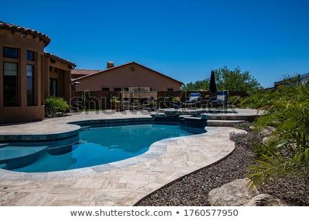 pool in the desert Stock photo © photochecker