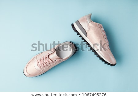 Two Sneakers Stok fotoğraf © lady-luck
