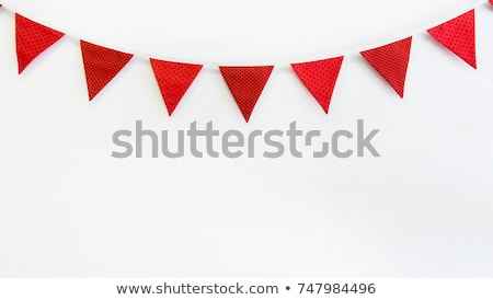 Bunting Flag Concept Stock photo © Lightsource