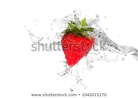 Fresh Strawberries in Water Stock photo © ArenaCreative