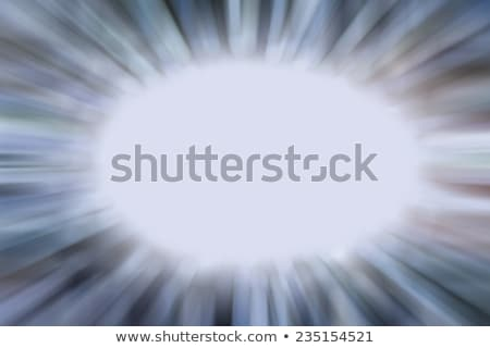 Zoom Blur confine unico nero abstract Foto d'archivio © ArenaCreative