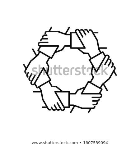 gemeenschap · sterkte · groep · teamwerk · Open - stockfoto © lightsource