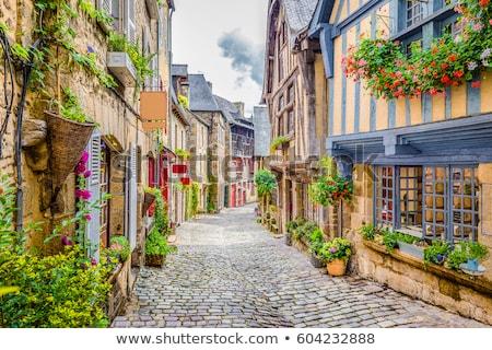 Frankrijk · historisch · centrum · heuvel · stad - stockfoto © nailiaschwarz