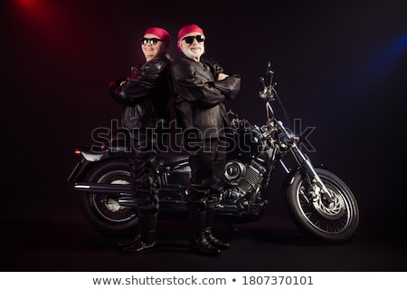 young couple with rocker outfit Stock photo © nenetus
