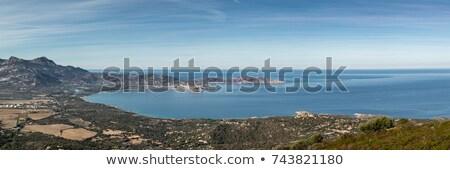 砦 コルシカ島 岩 フォアグラウンド 空 美 ストックフォト © Joningall