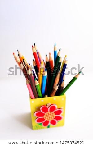 metal pencil case Stock photo © devon