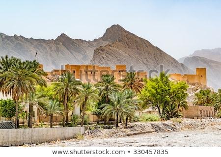 здании плитки Оман синий мозаика небе Сток-фото © w20er