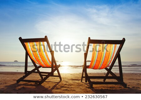 Two Deckchairs Stock photo © russwitherington
