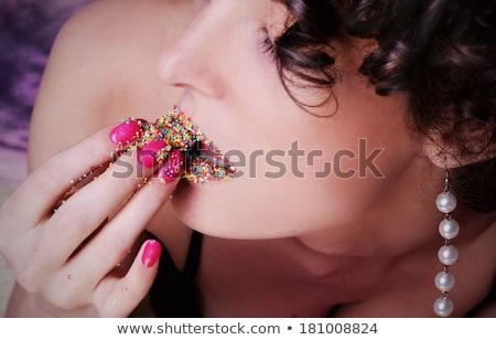 真珠 · 情熱 · 親密な · 画像 · 2 · 女の子 - ストックフォト © geribody