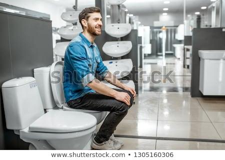 lavatory pan with fun Stock photo © 26kot