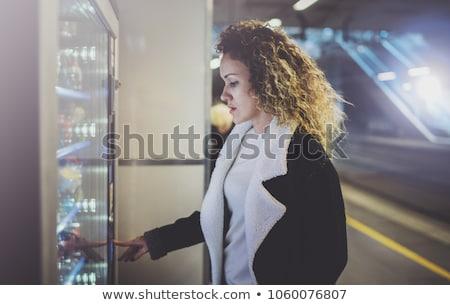 Gezondheid display automaat opschrift fitness geneeskunde Stockfoto © tashatuvango