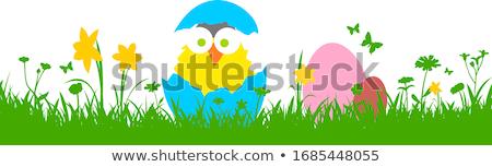 ビジネス · イースターエッグ · デザイン · イースター · 電話 · 電話 - ストックフォト © helenstock