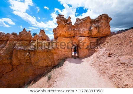 Sandstone Arch of Bryce Canyon Stock photo © emattil