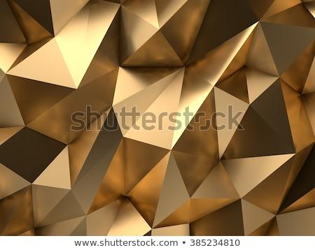 3D パターン 黄色 色 抽象的な 光 ストックフォト © klss