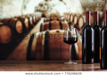 Sparkling Red Wine Bottle Stock photo © ozaiachin