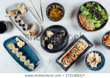 sushi on the table stock photo © raduga21