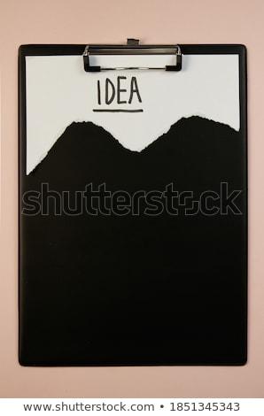 Competitors Concept with Word on Folder. Stock photo © tashatuvango
