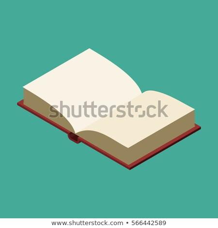 nyitva · barna · notebook · toll · felső · kilátás - stock fotó © netkov1