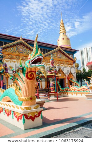 Thai Buddhist Temple in Penang Malaysia Stock photo © tang90246